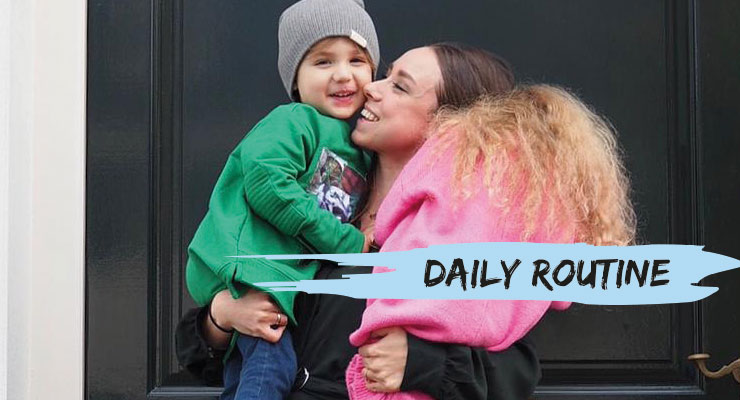 Daily Routine met: Lot Keckeis