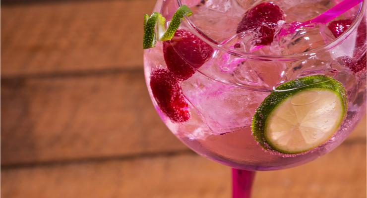 Me-time: roze gin-tonic